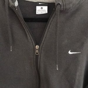 Nike .Zip-Up Gray Hoodie Unisex Medium